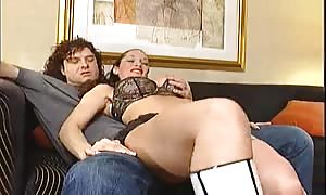 cock sucking stunner is giving a respectable head before anal sex and fist fucking sex