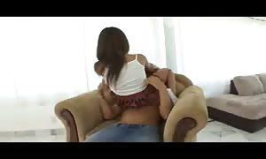 Schoolgirl skirt girl pounded in her snatch