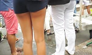 MINI SHORT VIOLET hot anus