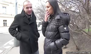 nice Czech woman will get abducted building and screwed