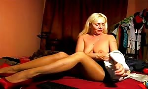proficient leggy French milf I'd prefer to fuck is having fun with posing