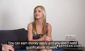 slim masseuse fucks in audition