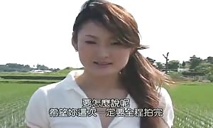 outside sex with shocking asian hotty slammed in doggy style
