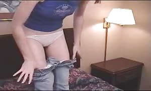 hot castings with a gorgeous red head spreading her stems