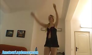 Lapdance by hot czech wannabe