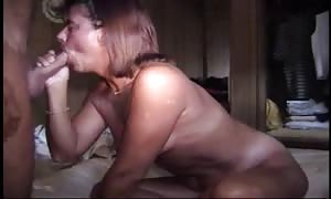 having fun with mouth-fuck and sex with his wife