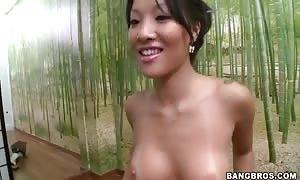 Asa Akira and Tasha Lynn satisfying a man