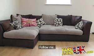 FakeAgentUK 2nd fake interview for hot body art brit