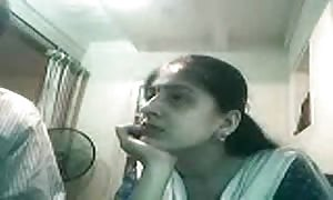 preggers Indian lovers fuckin' On web-cam