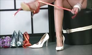 hot ladies In sexy high-heels 13