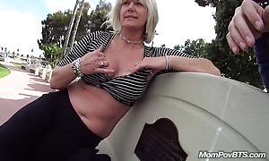 mommy I'd want to bang fucks in public bathroom stall
