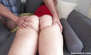 Big-ass dark haired takes in her mouth in the flick by booty Parade