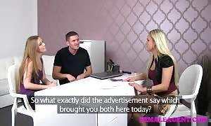 FemaleAgent milf shares sexy womans boyfriend in extraordinary th
