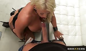 Luxury Alura Jenson shall we this wide hard-on truly deep in!