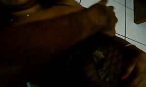 Desi wifey black underwear