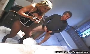 fancy blond