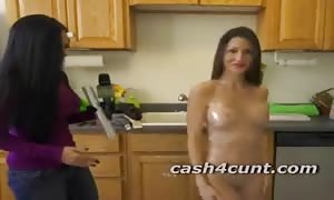 new cummer ladies get undressed for money and perform a little funny stunts