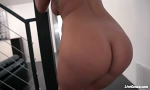 LiveGonzo London Keys hot chinese for butt sex viewing pleasure