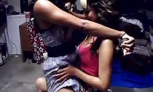 Dezy's lesbo Lapdance
