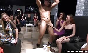 Cock-addicted hotties are demonstrating their oral skills