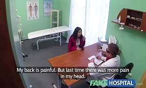 FakeHospital doctors shaft cures loud attractive horny patient