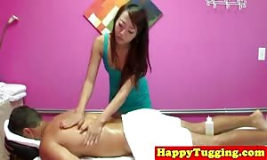 tossedoff masseuse tugging her consumer