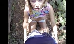 brand-new cummer pov violent mouth-fuck