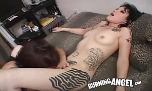 lesbian punk women are nailing in subordination supremacy porno