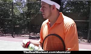 TheRealWorkout - Keisha gray rammed After Playing Tennis