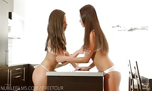 Nubile films - lezzy lust brings extreme