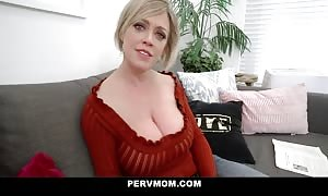 PervMom - wide butt step parent will get funbag penetrated By stepson