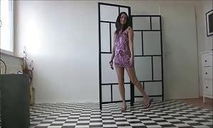 hot girls In attractive Flip Flops six