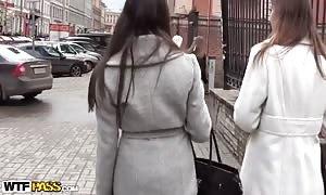Elizabeth in video of a public bathroom fuck in-between turned on fuck-friends