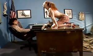 Schoolgirl Audrey Hollander tempts her professor