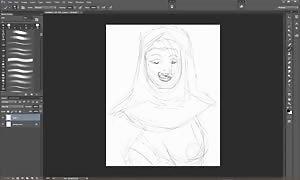 Sister Agatha fanatic artwork Timelapse