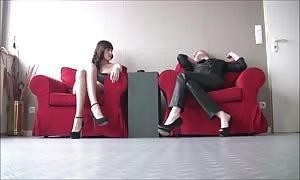 sexy girls In hot heels eight