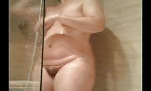wife vagina take a shower 8-6-14