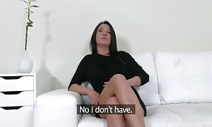 Dick-addicted whore is making an try to impress an impressive interviewer