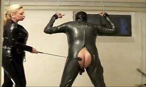 xxx goddess embarrassing her subordinated victim exploiting spank