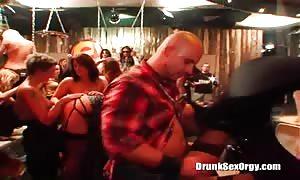 Sex-addicted boned up women are boning at a hot celebration