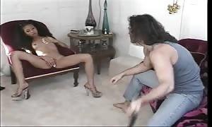 Lili Thai (aka Lily Thai) & a white guy (Interracial Sex)!