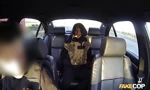 epic sex in the vehicle with a officers police officer in the vid by pretend cop studio