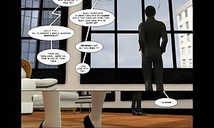 3D Comic: Vox Populi. scene 4