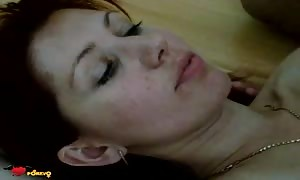 mom is opening her mouth simply to get a turned on jizz shot