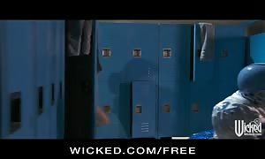 Wicked - sexy red haired Marie McCray fucked in the hit the hit the shower