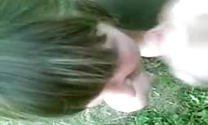 humorous cum shot on her hair))