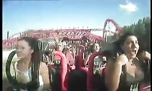 Oops funbag out in Rollercoaster
