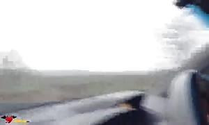 skinny youngster mom is performing a really excellent face fuck in the vehicle