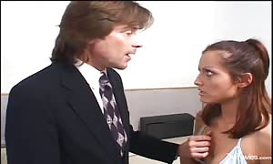 Cock-craving nanny provides a very good head for a businessman