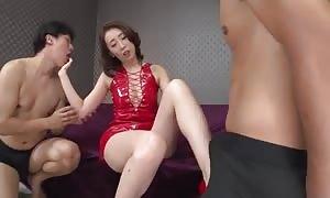 unique japanese slut Aya Kisaki in aroused JAV uncensored hard-core fasten